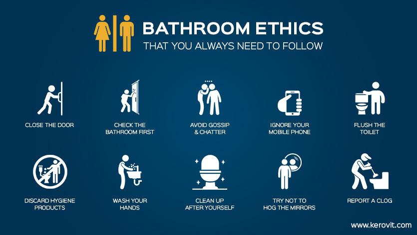 bathroom ethics